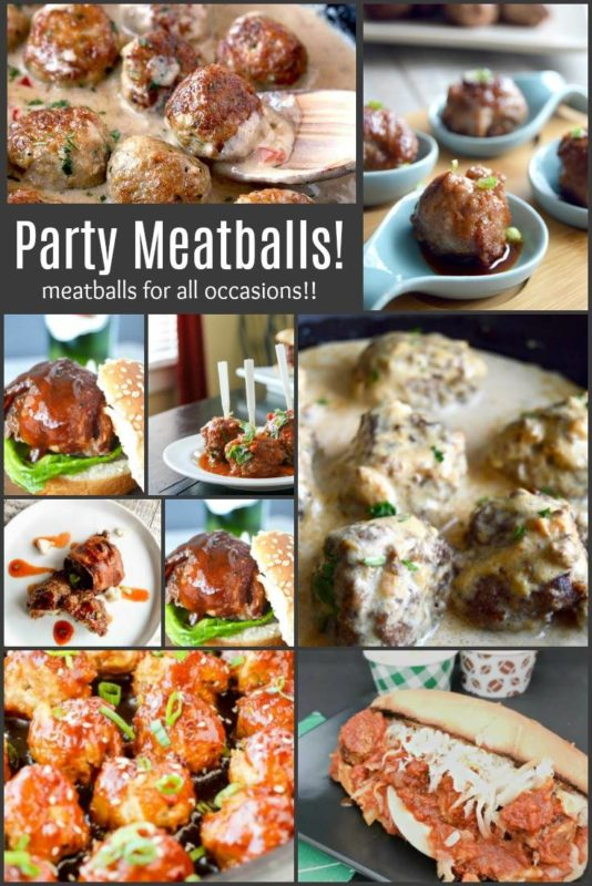 Party Meatballs!