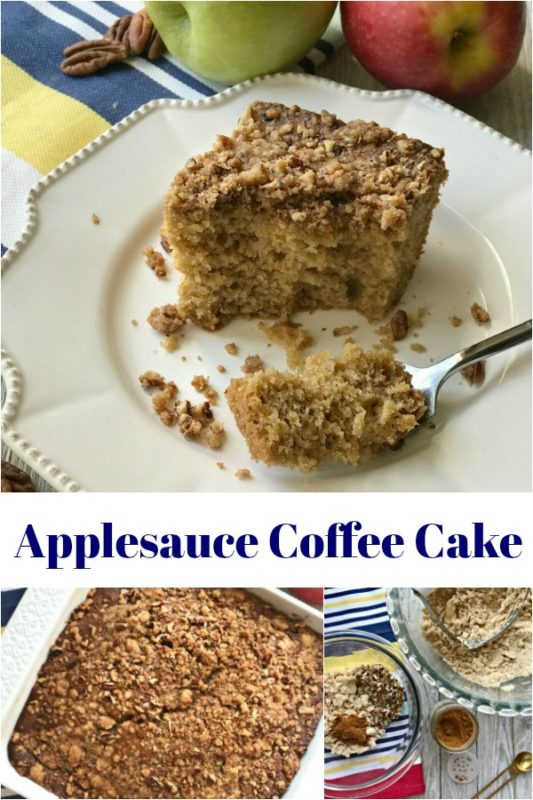 Applesauce Coffee Cake - An Affair from the Heart