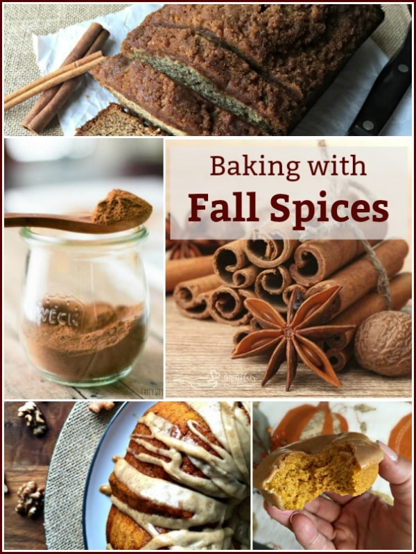 Baking with Fall Spices - An Affair from the Heart