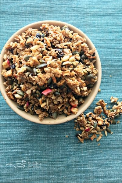 Fresh Apple Granola