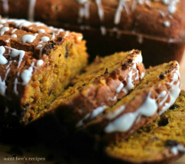 Double Chocolate Chip Pumpkin Bread