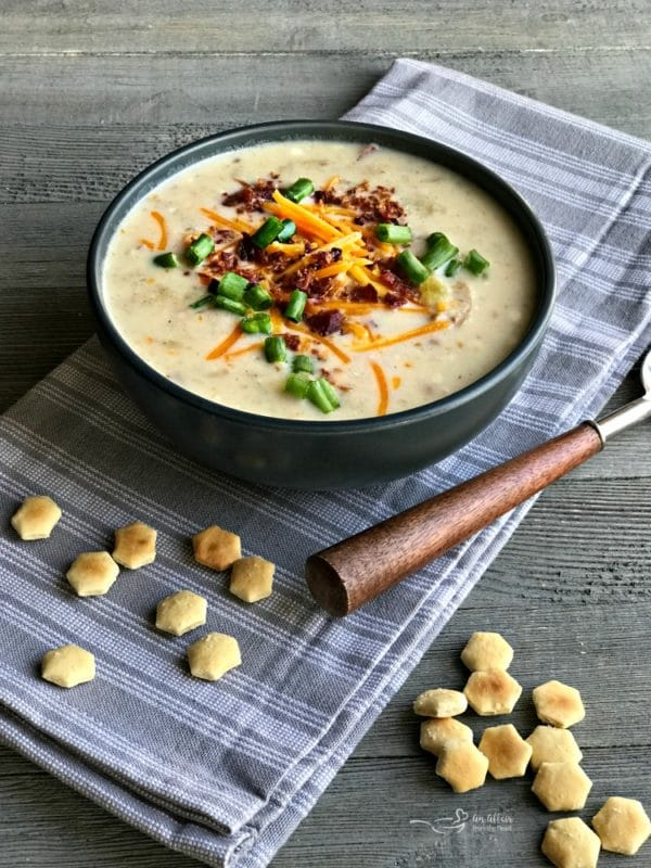 Instapot Loaded Potato Soup