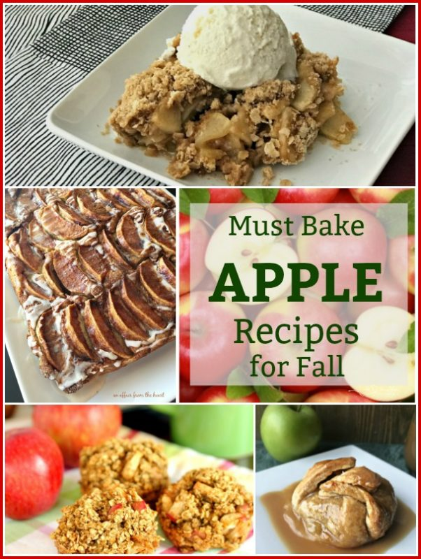 Must Bake APPLE Recipes for Fall