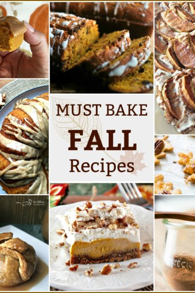 Fall's Must Bake Recipes