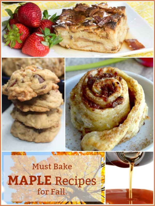 Must Bake MAPLE Recipes for Fall - An Affair from the Heart