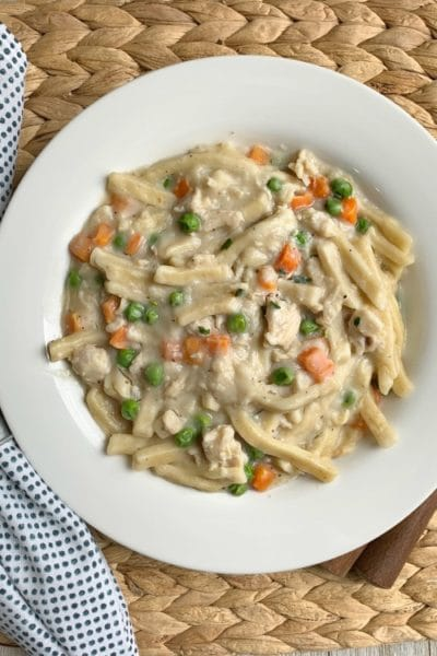 Gary's 20 Minute Chicken & Noodles