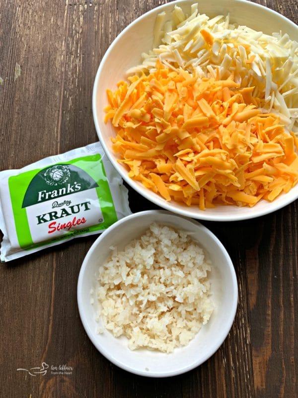 Quick Pretzel Bites with Sauerkraut Cheddar Cheese Sauce dip