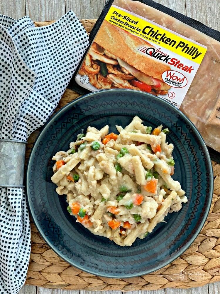 20 Minute Chicken & Noodles