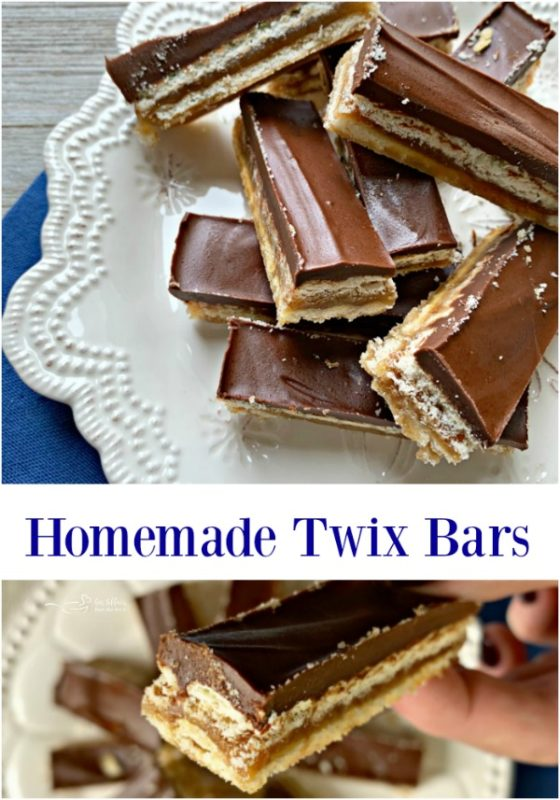 Homemade Twix Bars - An Affair from the Heart