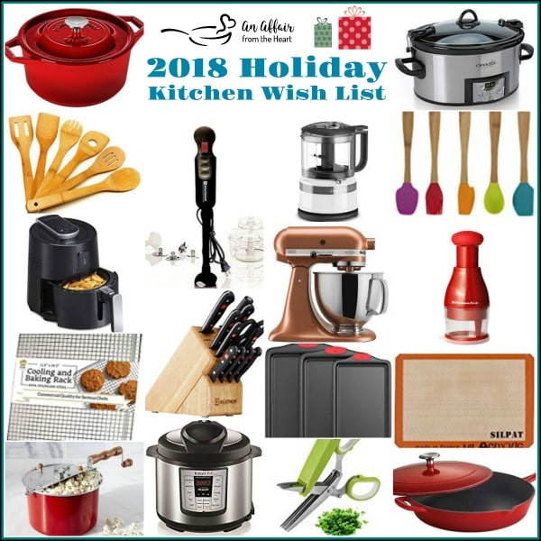 2018 Holiday Kitchen Wish List