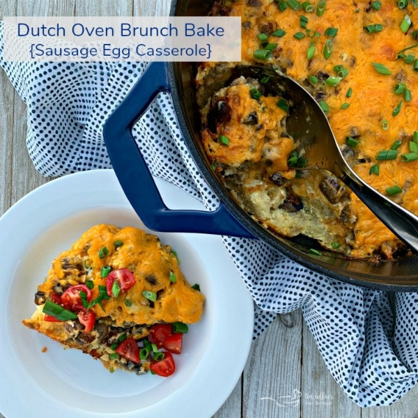 Overnight Dutch Oven Breakfast Casserole