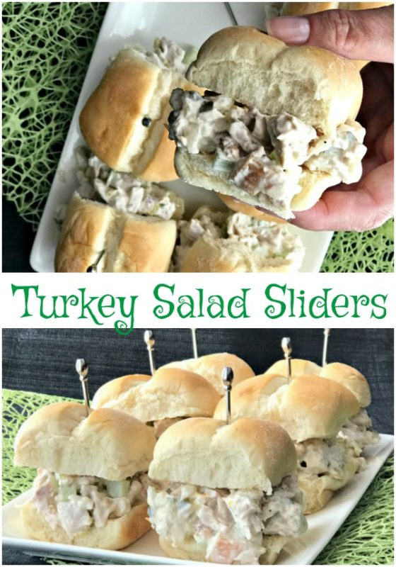 Turkey Salad Sliders