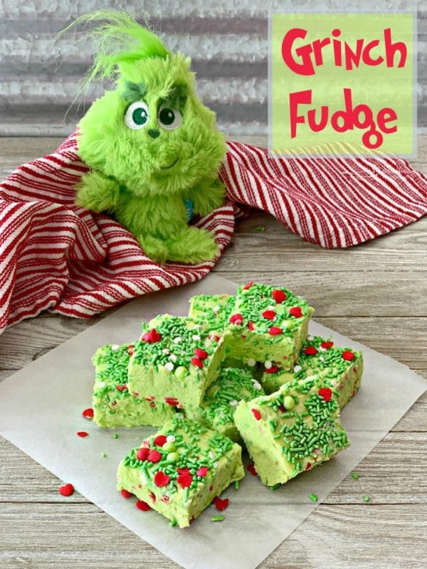 Grinch Fudge - An affair from the Heart