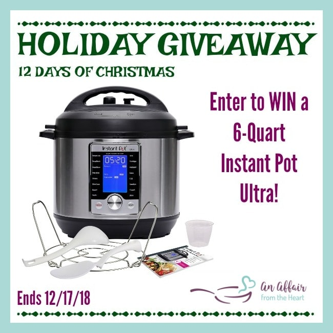 Win an Instant Pot from An Affair from the Heart