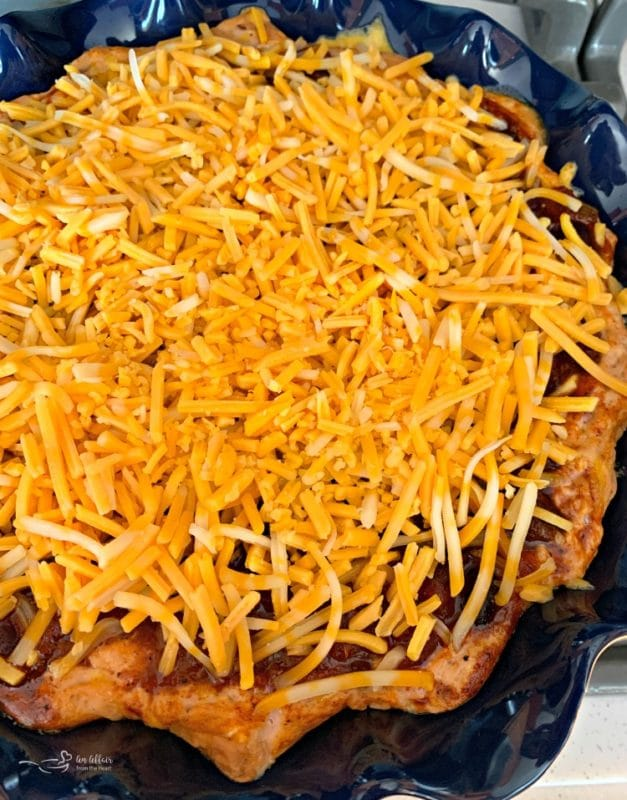 Baked Chili Cheese Bean Dip