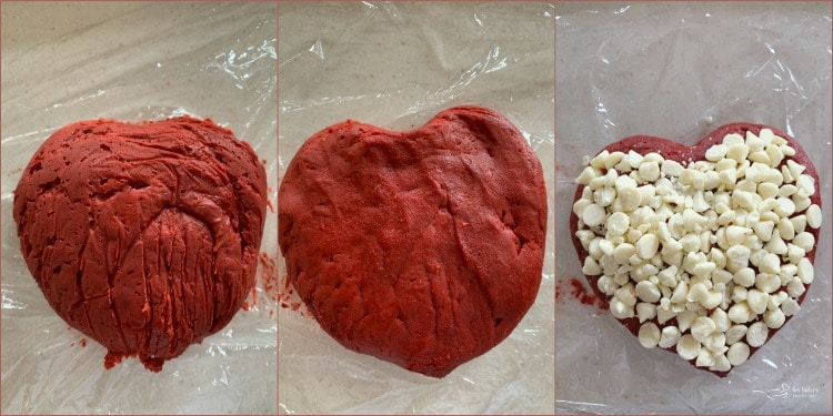 Heart Shaped Red Velvet Cheese Ball