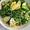 Green Salad with Lemon Thyme Vinaigrette