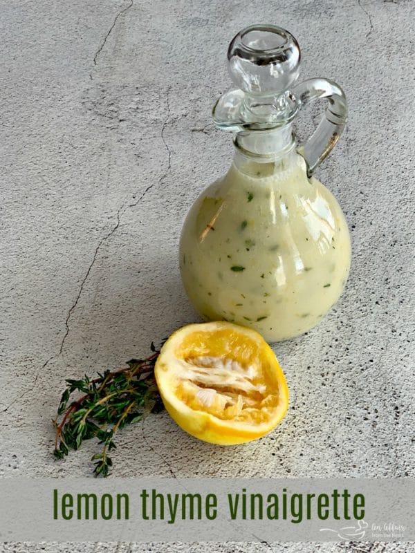 Lemon Thyme Vinaigrette