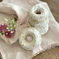 Baked Powdered Sugar Donuts