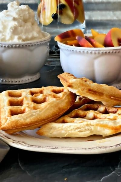 Puffles – Puff Pastry Waffles