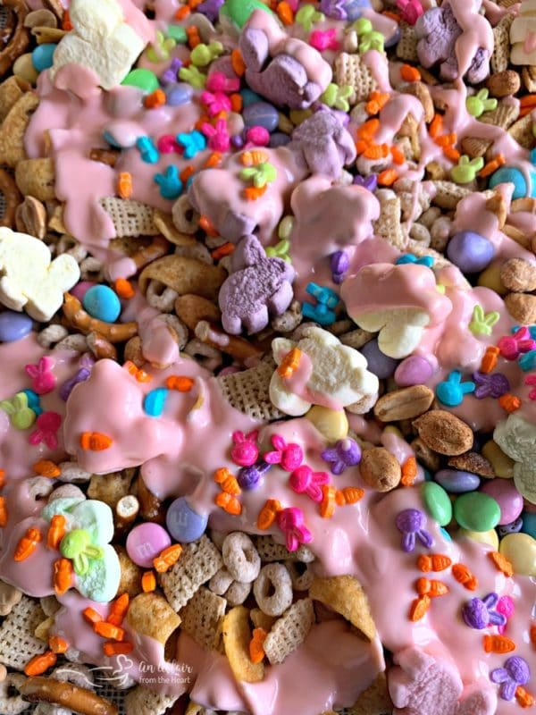 Spring Candy Coated Snack Mix