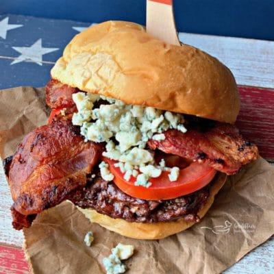 Red, White & Bleu Burger