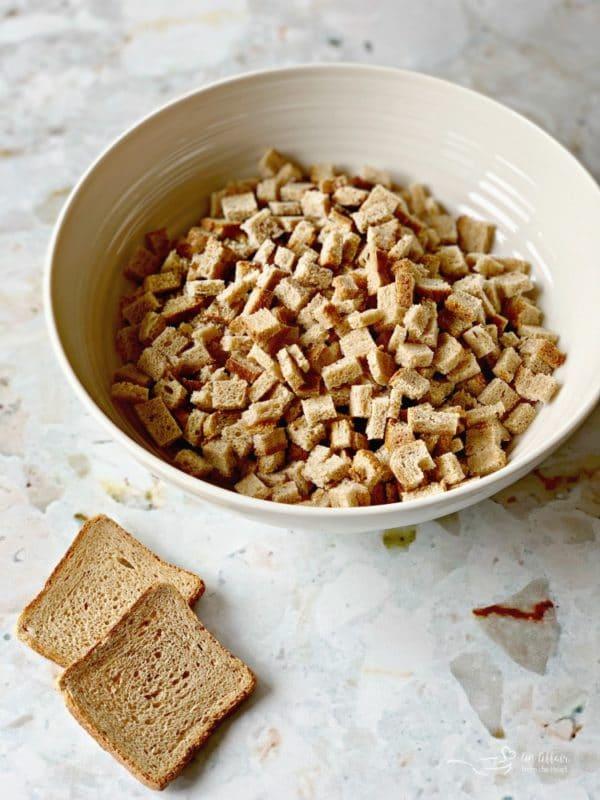rye bread crumbs