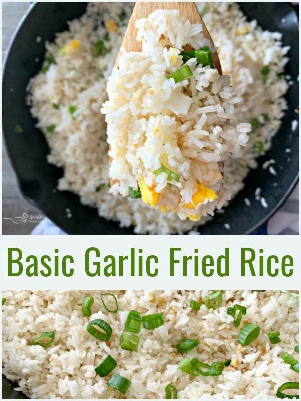 Basic Garlic Fried Rice - An Affair from the Heart