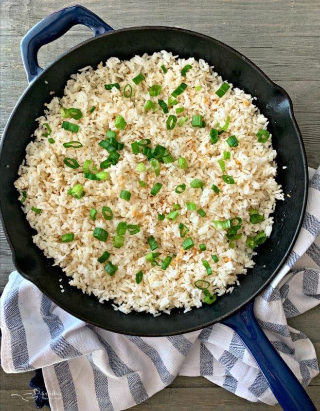 Basic Garlic Rice
