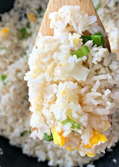 Basic Garlic Fried Rice