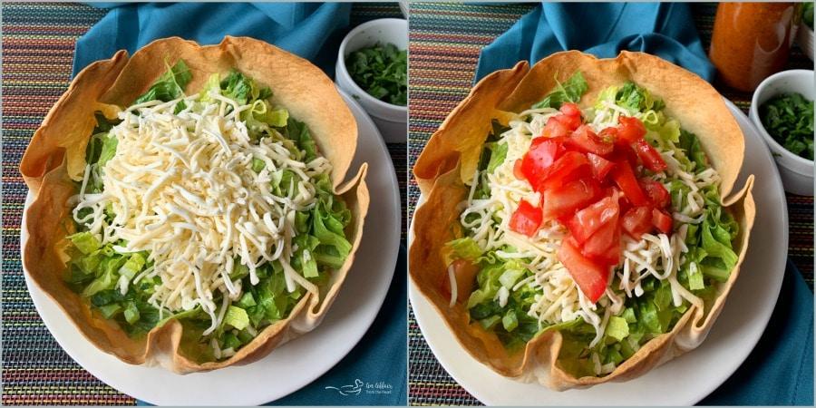 Dorothy's Taco Salad Prep