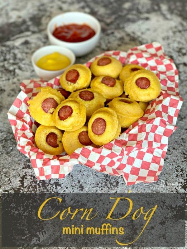 Corn Dog Mini Muffins hero
