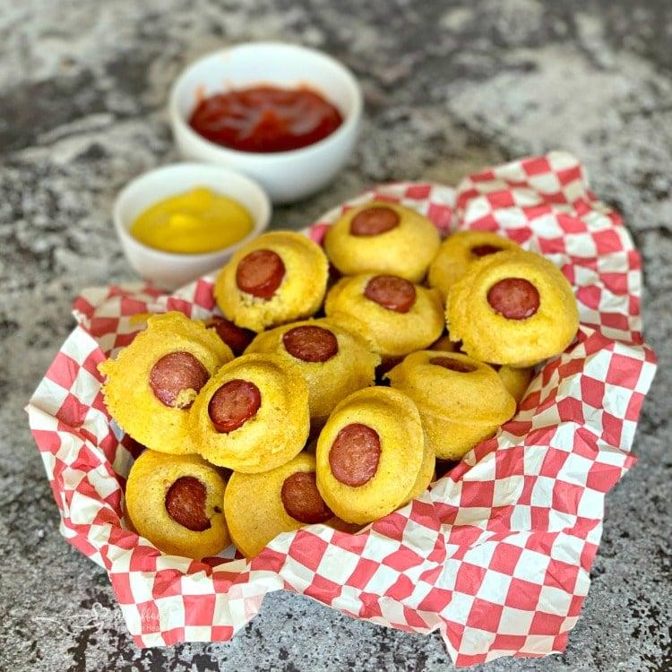 Corn Dog Mini Muffins sq