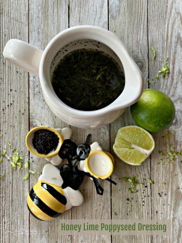 Honey Lime Poppy Seed Dressing