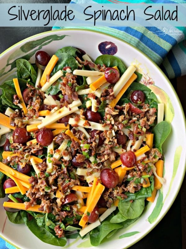 Silverglade Spinach Salad hero