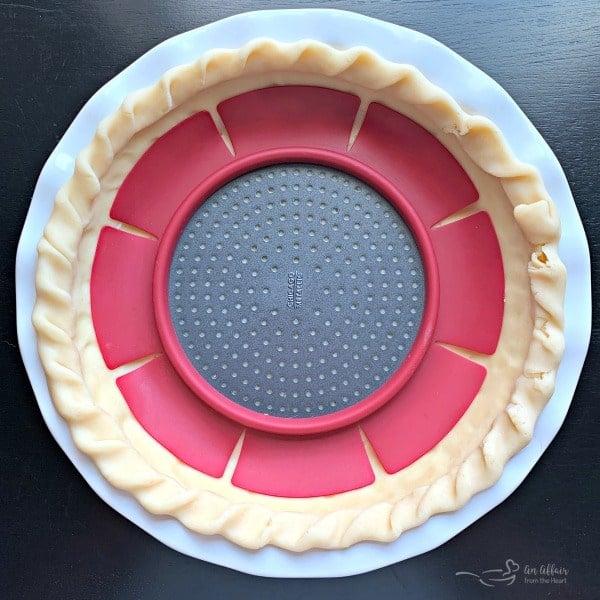 Tomato Pie pre bake crust