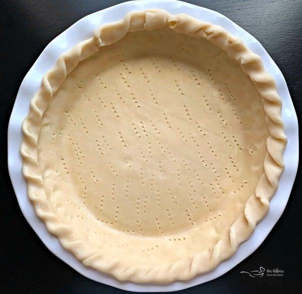 Tomato Pie prep crust