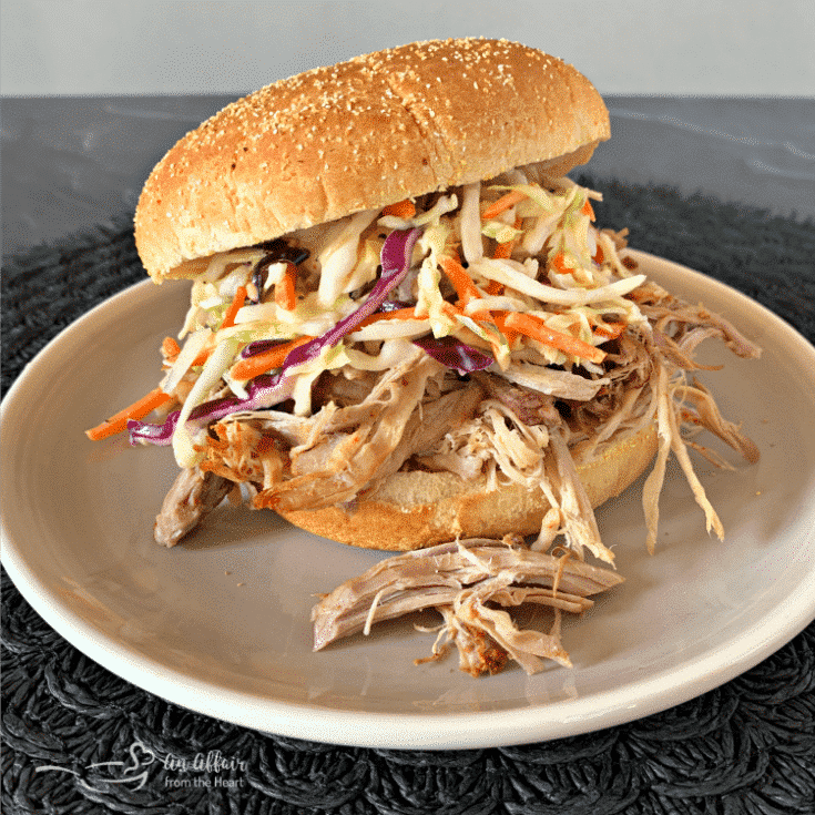 Crock Pot Pulled Pork with Dorothy Lynch Coleslaw