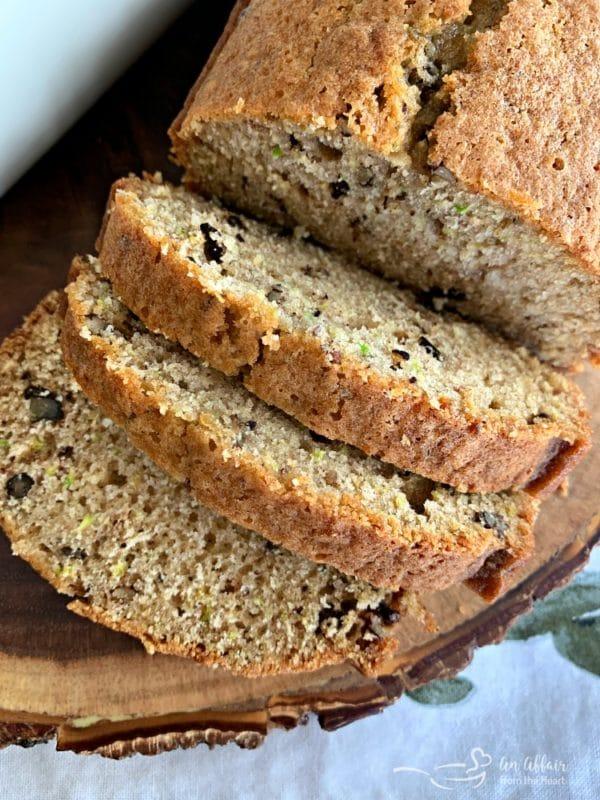 grandma's zucchini bread  moist zucchini bread spiced