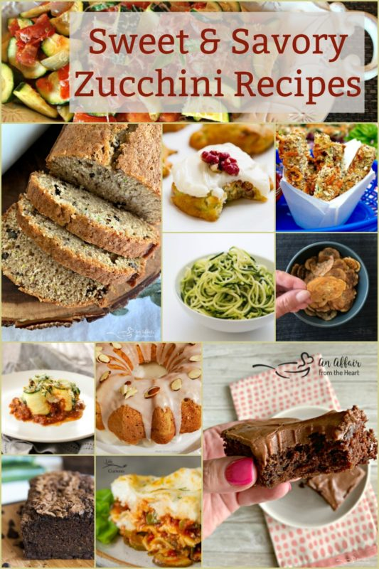Sweet & Savory Zucchini Recipes