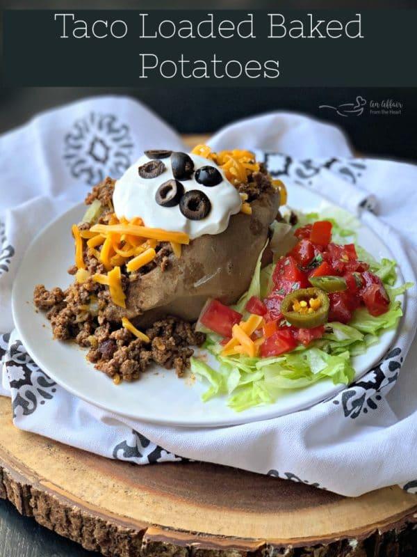 Taco Loaded Baked Potato