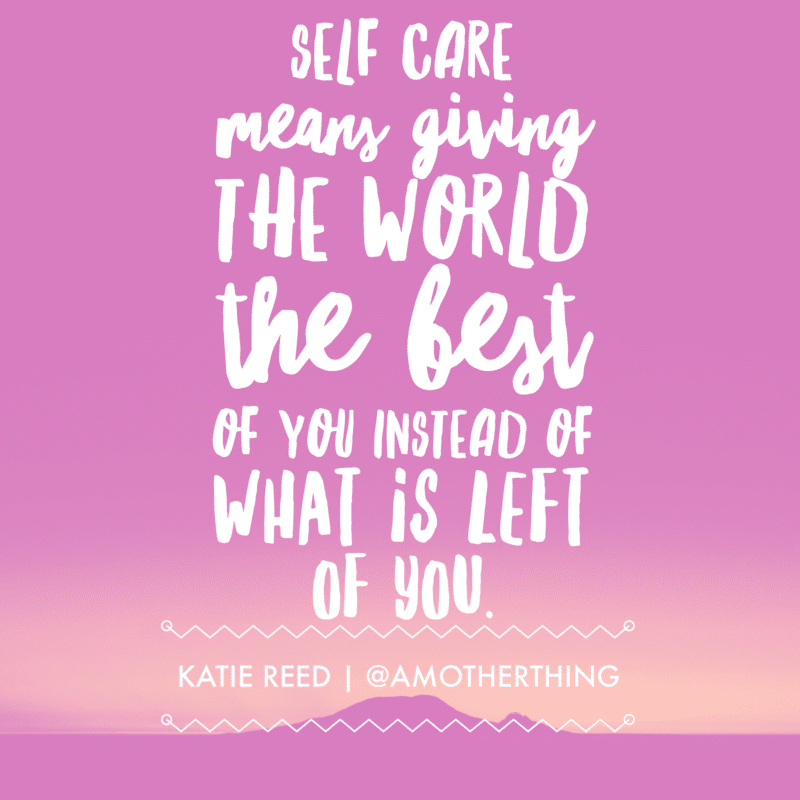 Self Care Quote