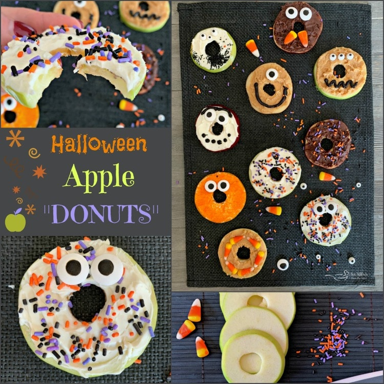 Apple Donut Monsters - AnAffair from the Heart