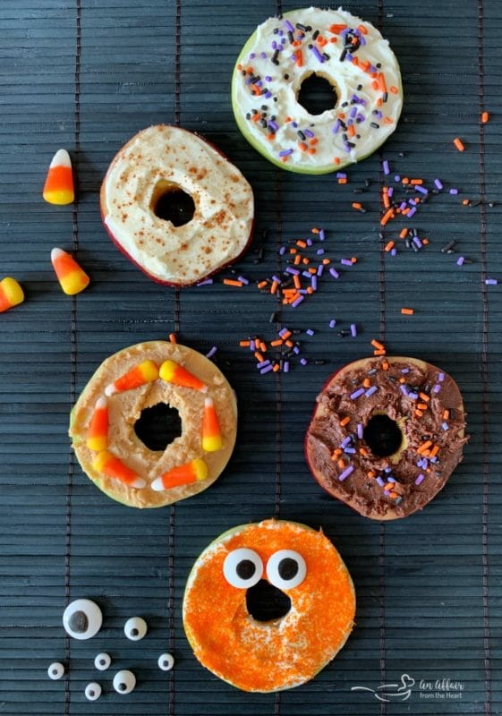 Apple Donuts Halloween