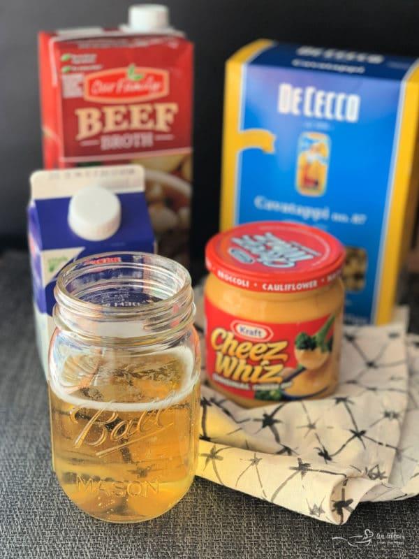 Beer Cheese Pasta Sauce