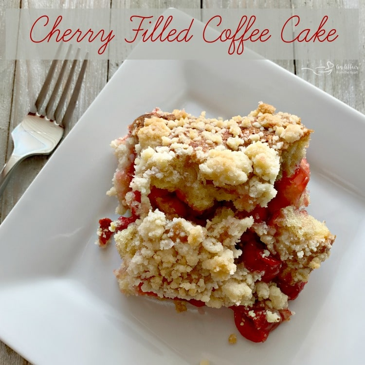 Cherry Filled Coffee Cake HERO