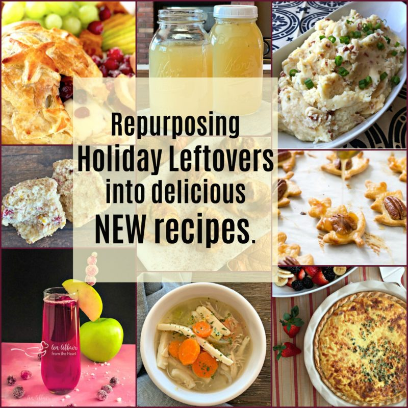 Repurposing Holiday leftovers into new recipes