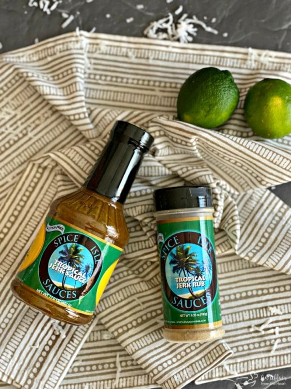 Spice Isle Sauce & Seasoning Tropical Jerk Flavor