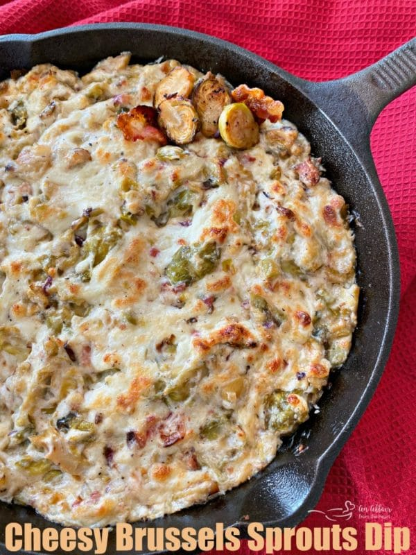 Cheesy Brussels Sprouts Dip HERO
