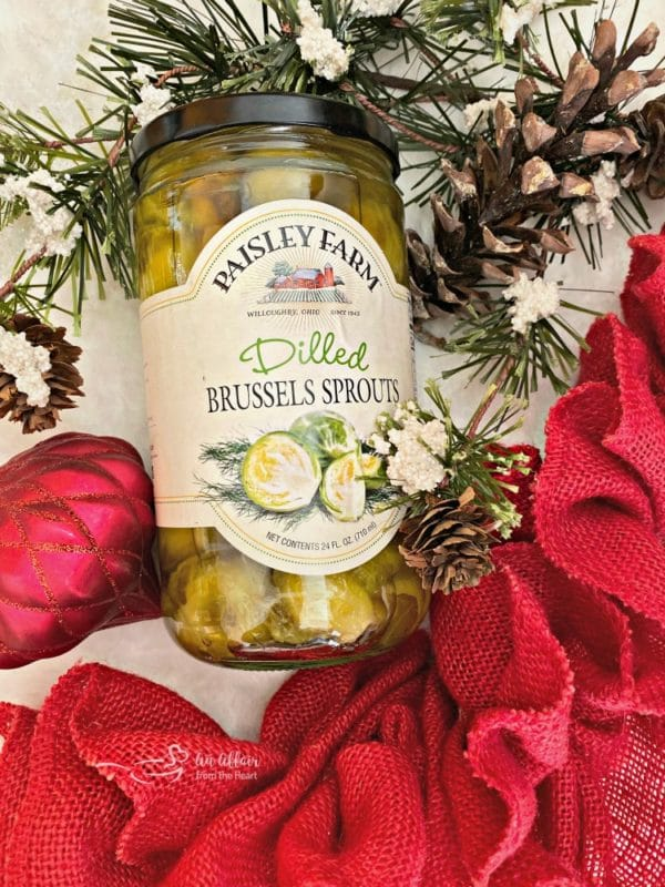 Paisley Farm Dilled Brussels Sprouts holiday